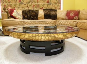 mandala table side view
