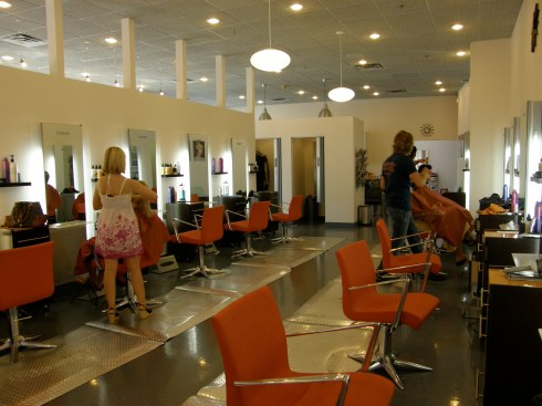 Industry hair salon