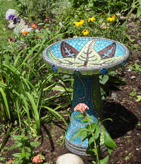 Botanical Bird Bath  2007