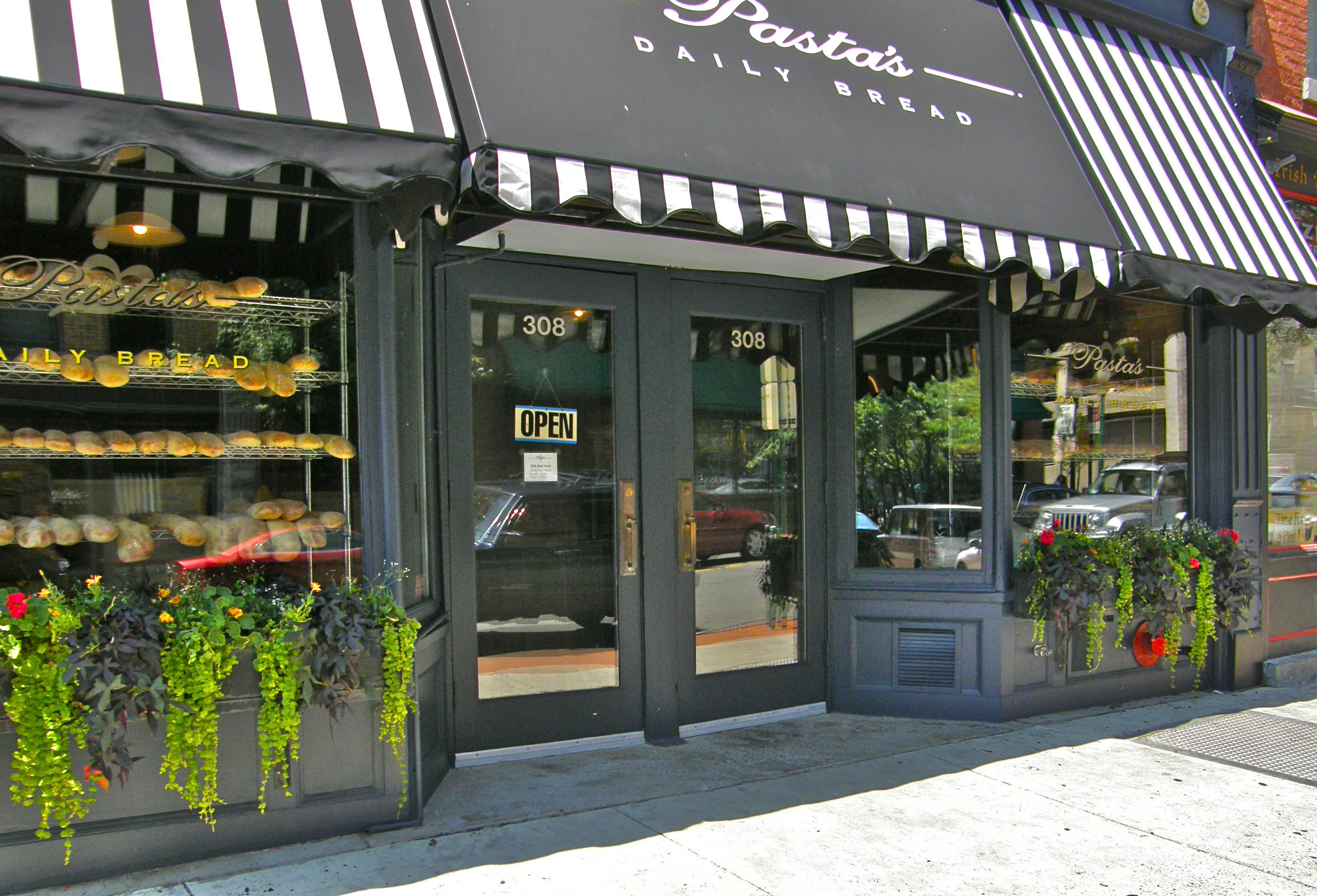Pastas Daily Bread Store Front 2009 Amy Fancher S Studio Blog