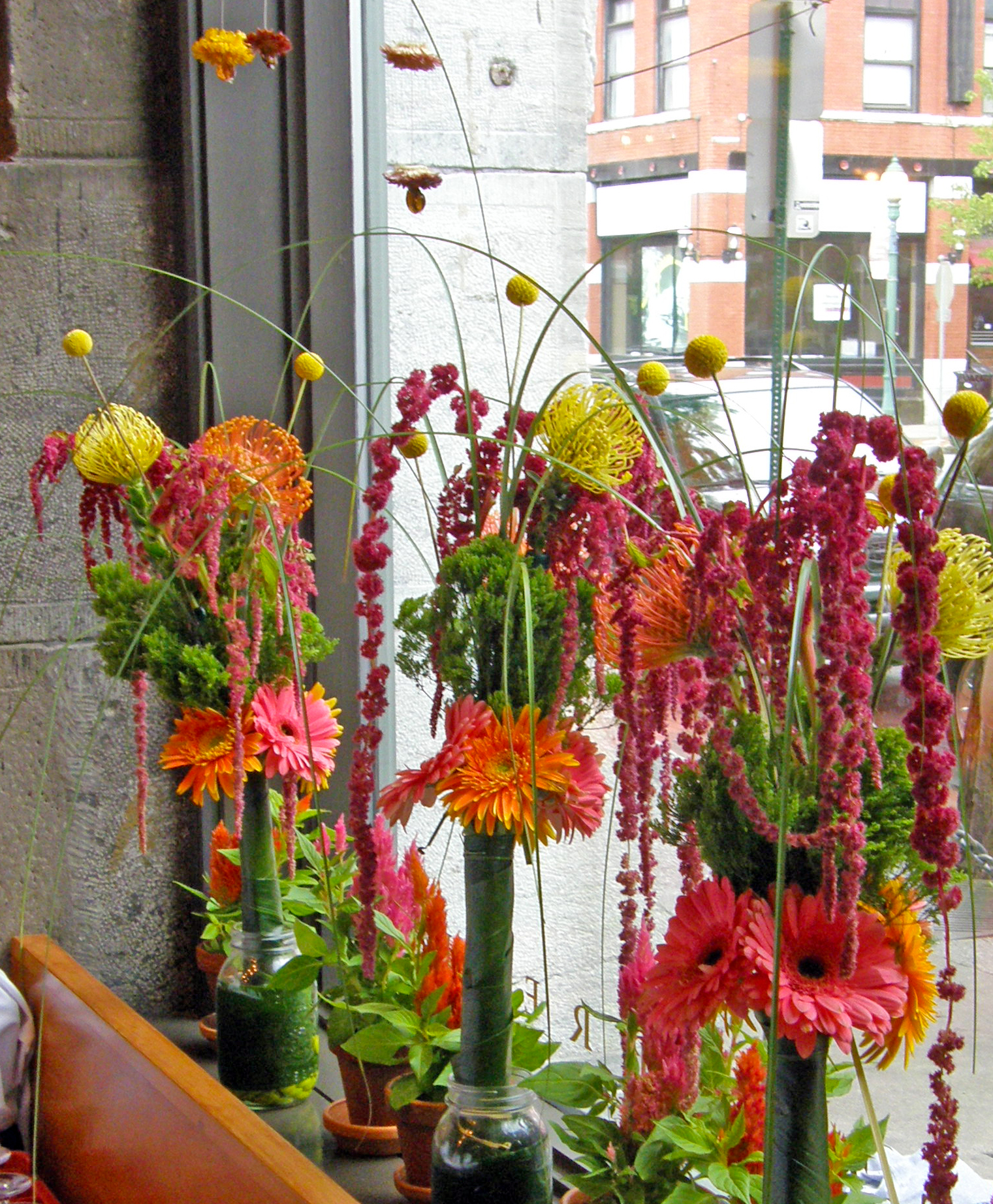 Sculptural Flower Arrangements 2010 Amy Fancher S Studio
