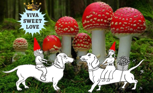 mushroom gnome banner