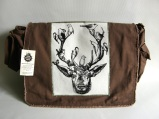 Deer & Birds Messenger Bag