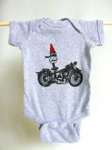 Biker Gnome Infant Onesie